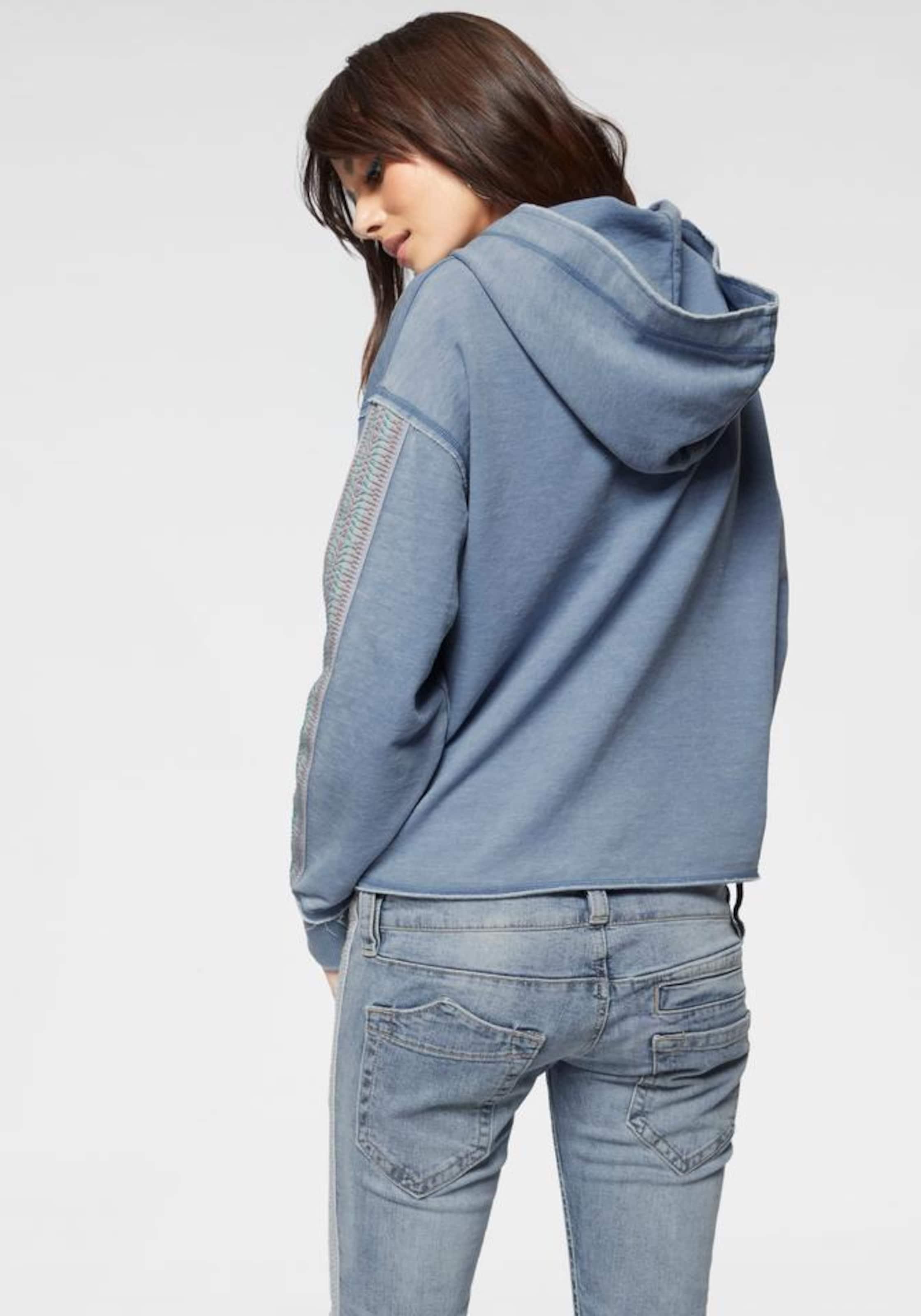 Sweatshirt Herrlicher 'walda' Rauchblau Sweatshirt Herrlicher 'walda' In N8Zn0wOPkX