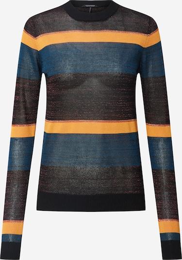 SCOTCH & SODA Pullover in himmelblau / orange / schwarz, Produktansicht