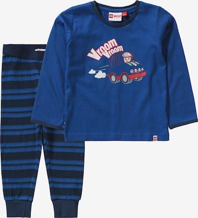 LEGO WEAR Baby Schlafanzug NIS für Jungen in blau: Frontalansicht