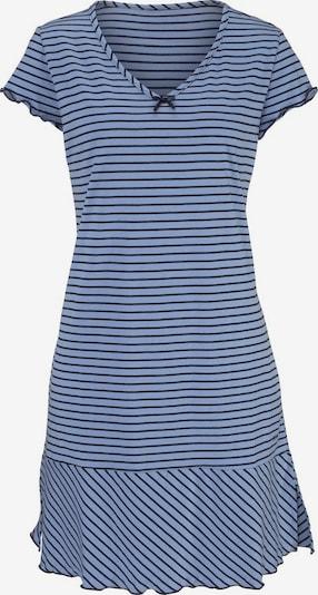 H.I.S Nachthemd in blau, Produktansicht