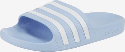 füstkék / fehér ADIDAS PERFORMANCE Strandcipő 'Adilette Aqua', Termék nézet