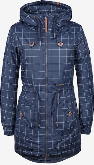 Alife and Kickin Zimska jakna 'Charlotte A' | temno modra / bela barva, Prikaz izdelka