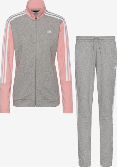 ADIDAS PERFORMANCE Trainingsanzug in grau / rosa, Produktansicht