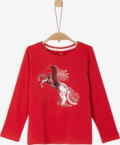 s.Oliver Junior Shirt in mischfarben / rot, Produktansicht