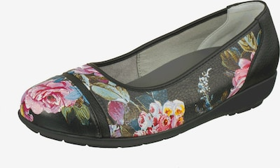 Natural Feet Ballet Flats 'Sanela' in Blue / Yellow / Olive / Pink / Black, Item view