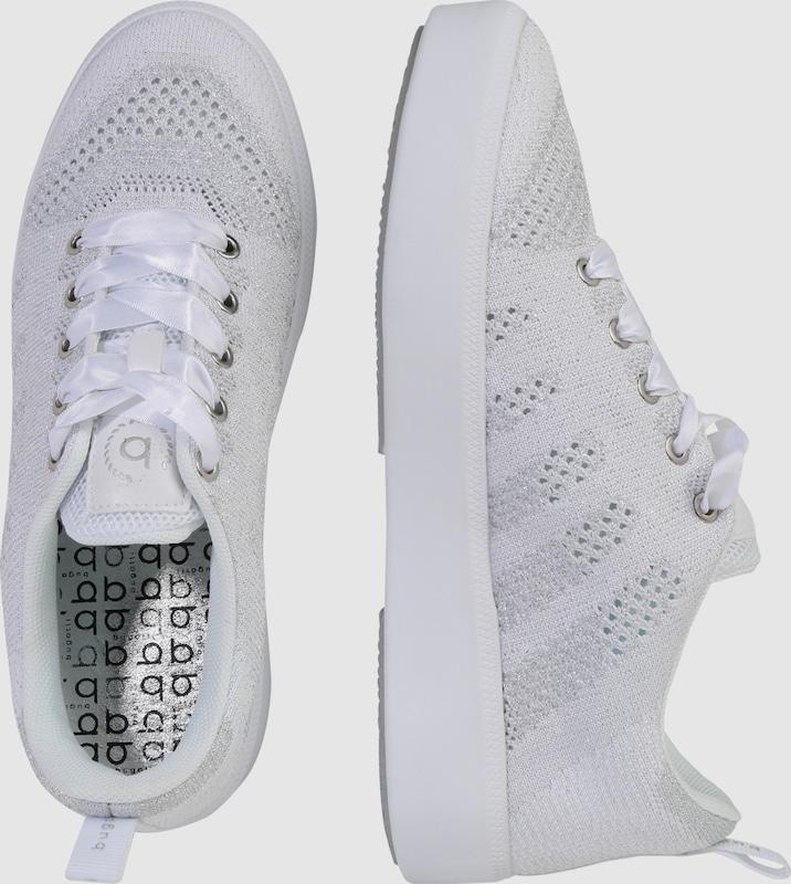 bugatti Sneaker mit Glitzereffekt