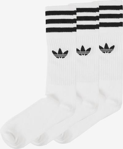 ADIDAS ORIGINALS Ponožky 'Solid Crew' - čierna / biela, Produkt