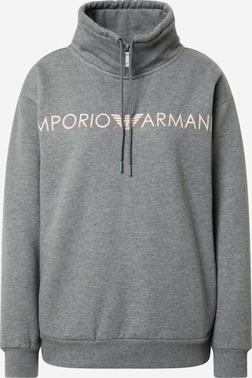 Emporio Armani Sweat-shirt 'Terry' en gris chiné, Vue avec produit