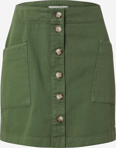 TOM TAILOR DENIM Rock in grün, Produktansicht