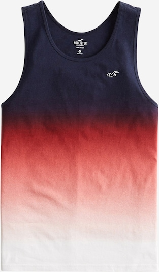 HOLLISTER Tank-Top in dunkelblau / rot / weiß, Produktansicht