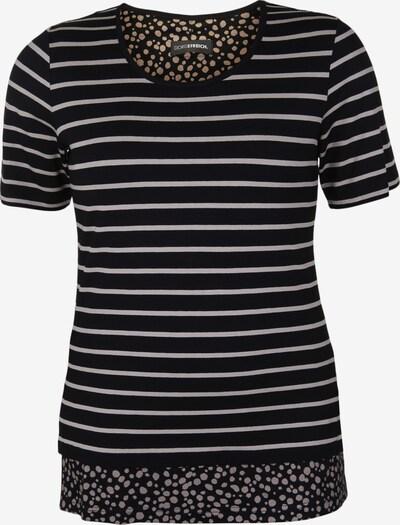 Doris Streich Shirt mit Streifenmuster in beige / schwarz, Produktansicht
