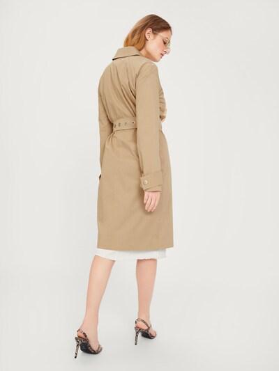 EDITED Płaszcz przejściowy 'Romy' w kolorze beżowym: Widok od tyłu