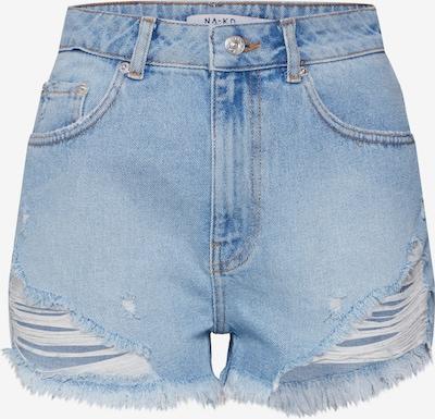 Džinsai iš NA-KD , spalva - tamsiai (džinso) mėlyna / šviesiai mėlyna, Prekių apžvalga