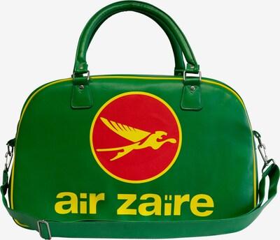 LOGOSHIRT Umhängetasche 'Air Zaire - Airlines' in gelb / grün / rot, Produktansicht