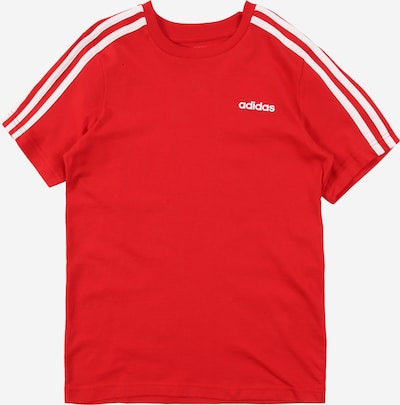 ADIDAS PERFORMANCE T-Shirt 'YB E 3S TEE' in rot / weiß, Produktansicht