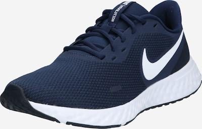 NIKE Sport-Schuhe 'REVOLUTION 5' in navy / weiß, Produktansicht