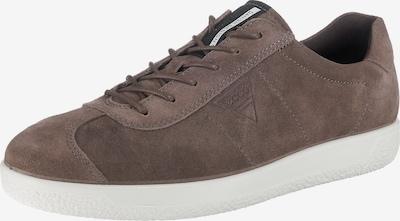 ECCO Sneakers 'Soft 1' in mokka: Frontalansicht