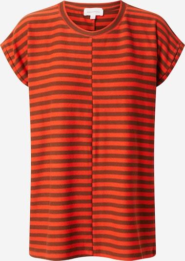 ARMEDANGELS Shirt 'JAARIN' in braun / dunkelorange, Produktansicht