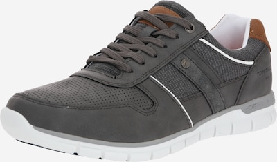 TOM TAILOR Sneaker in braun / dunkelgrau, Produktansicht