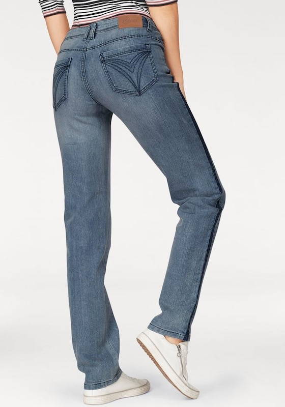 CHEER Straight-Jeans