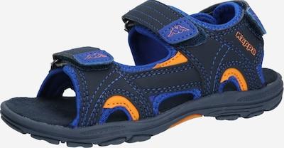KAPPA Open schoenen 'EARLY II' in de kleur Navy / Sinaasappel, Productweergave