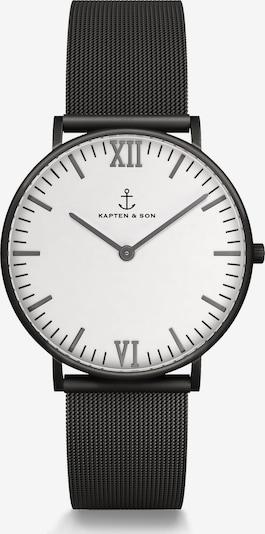 Kapten & Son Uhr in schwarz / weiß, Produktansicht