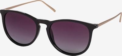 Pilgrim Solglasögon 'Vanille' i svart, Produktvy