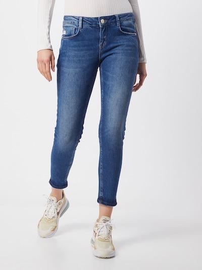 Goldgarn Jeans 'JUNGBUSCH' in blau, Modelansicht