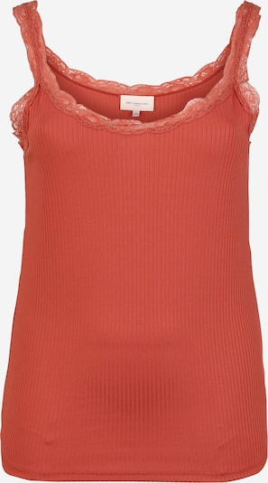 ONLY Carmakoma Top 'CARMILO' in de kleur Oranjerood, Productweergave