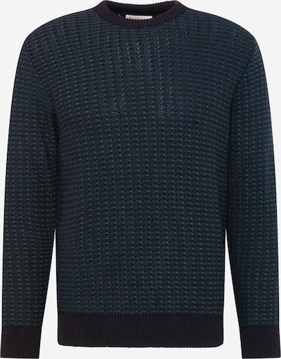 By Garment Makers Pullover 'Leo' in navy / dunkelgrün, Produktansicht