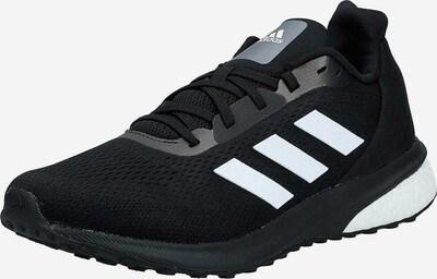 ADIDAS PERFORMANCE Laufschuch in schwarz / weiß: Frontalansicht