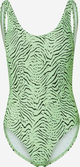 EDITED Maillot de bain 'Felize' en vert foncé, Vue avec produit