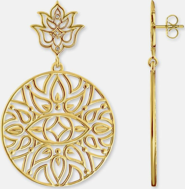 Thomas Sabo Paar Ohrstecker »Mandala-Ornamentik 'D_H0008-924-39'