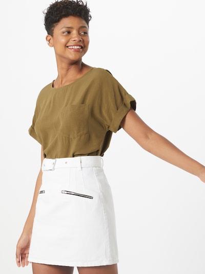 GAP Bluzka w kolorze oliwkowym: Widok z przodu