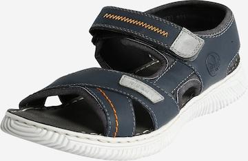 Sandales de randonnée RIEKER en bleu