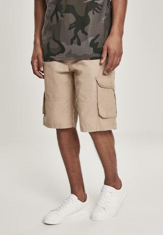 SOUTHPOLE Klapptaskutega püksid, värv beež