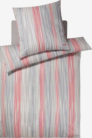 JOOP! Bettwäsche in grau / koralle / weiß, Produktansicht