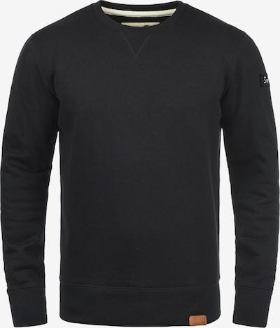 !Solid Sweatshirt 'Trip-O-Neck' in schwarz: Frontalansicht