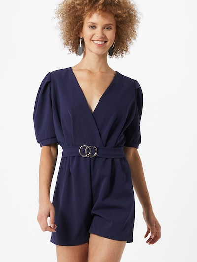 SISTERS POINT Jumpsuit 'NEX' in navy, Modelansicht