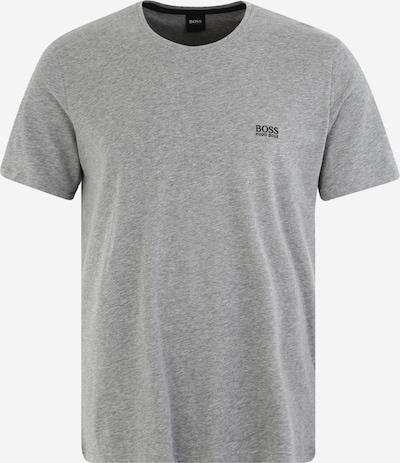 BOSS Casual Kratka pižama | pegasto siva / črna barva, Prikaz izdelka