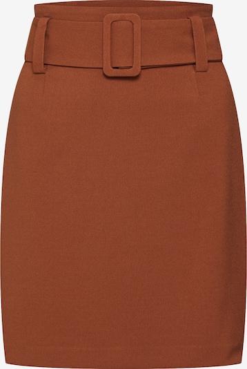 EDITED Jupe 'Odetta' en marron, Vue avec produit