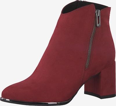 MARCO TOZZI Enkellaarsjes in de kleur Rood, Productweergave
