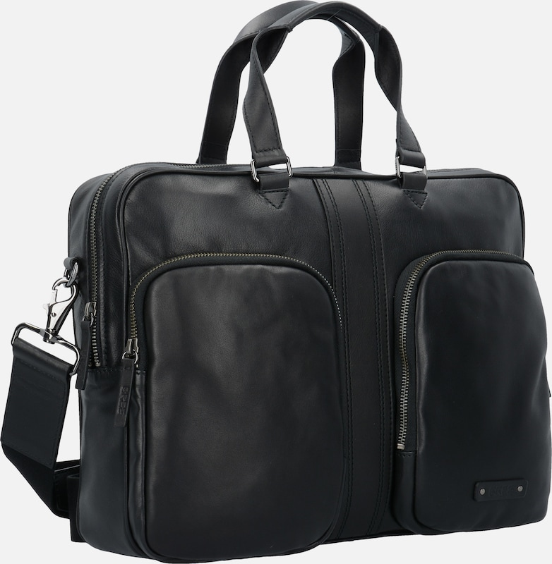 BREE 'Gordon' Businesstasche  Leder 38 cm Laptop