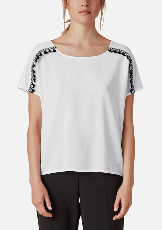TRIANGLE T-Shirt in schwarz   weiß  Neu Neu Neu in diesem Quartal 6094a3