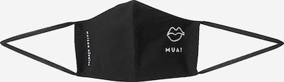 Maison Hēroïne Stoffmaske 'Kiss' in schwarz, Produktansicht
