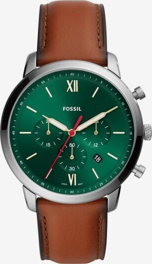 FOSSIL Uhr  'NEUTRA CHRONO, FS5735' in braun / grün / silber, Produktansicht