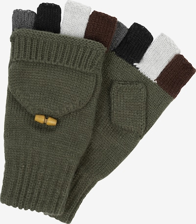 INDICODE JEANS Vingerhandschoenen in de kleur Olijfgroen, Productweergave