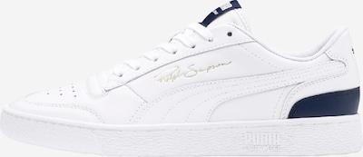 PUMA Sneaker 'Ralph Sampson Lo' in dunkelblau / weiß: Seitenansicht