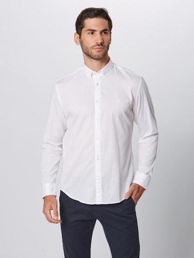 Dalykiniai marškiniai iš Marc O'Polo , spalva - balta: Vaizdas iš priekio