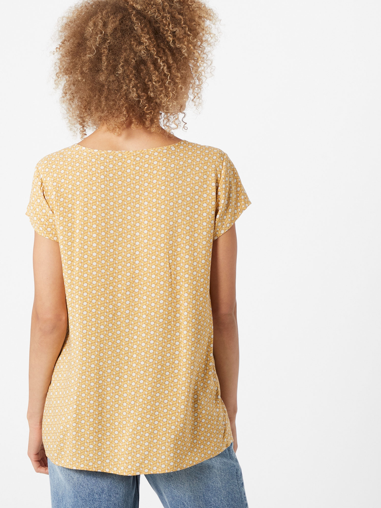 Soyaconcept Blouse 'Iggy 1' in Geel / Wit vFRkXg8f